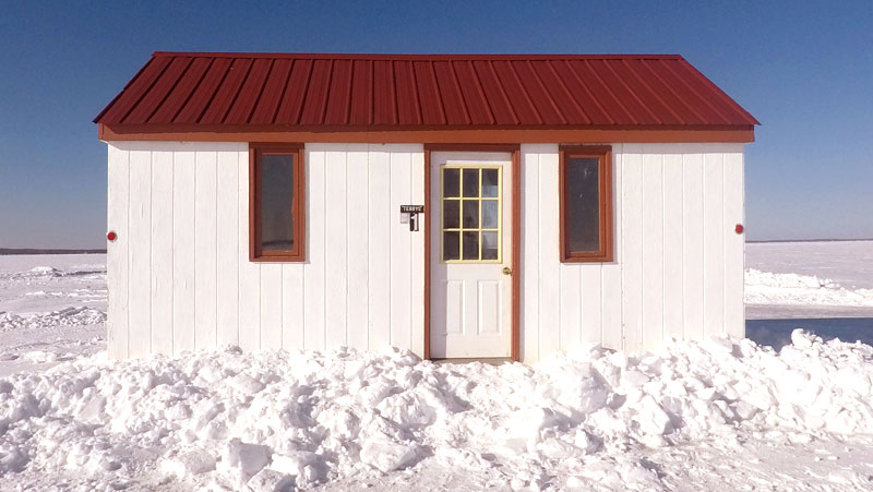 Superb Ice Fishing Lake Mille Lacs Fish House Rentals
